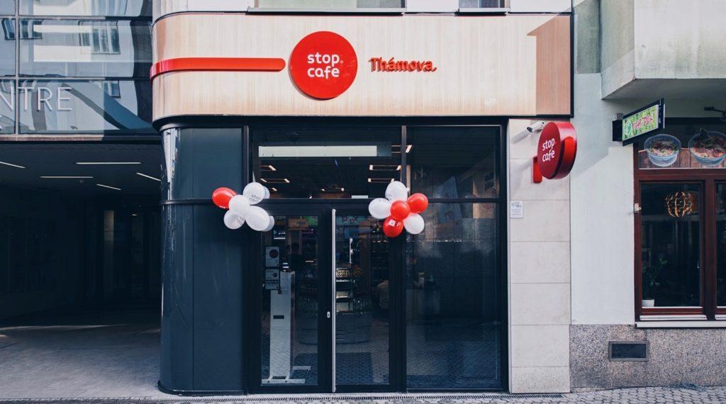 sklep Stop Cafe Praga Thamova otwarcie