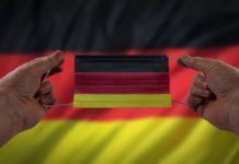 niemiecka maseczka covid - grafika wpisu