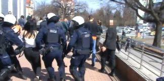 kobieta pobita przez policje głogów