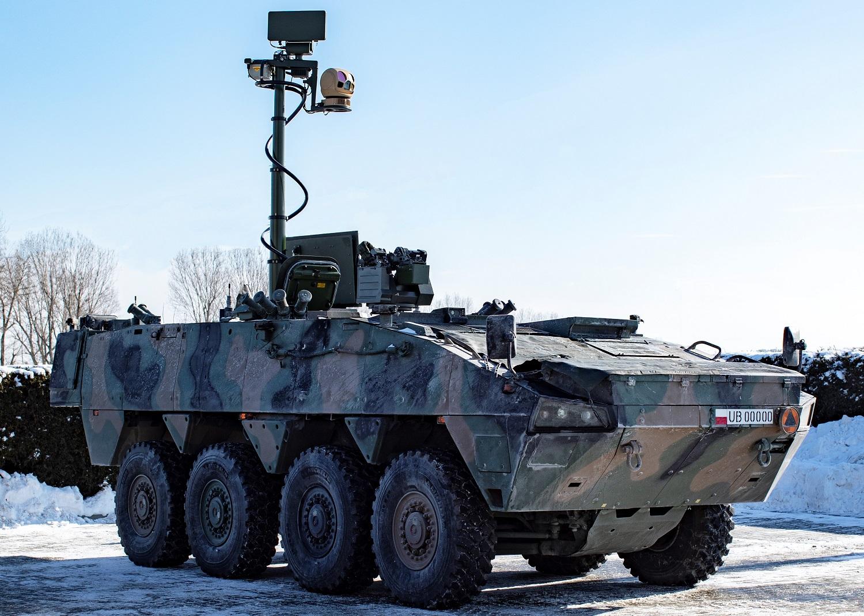 artyleryjski wóz rozpoznawczy - grafika wpisu