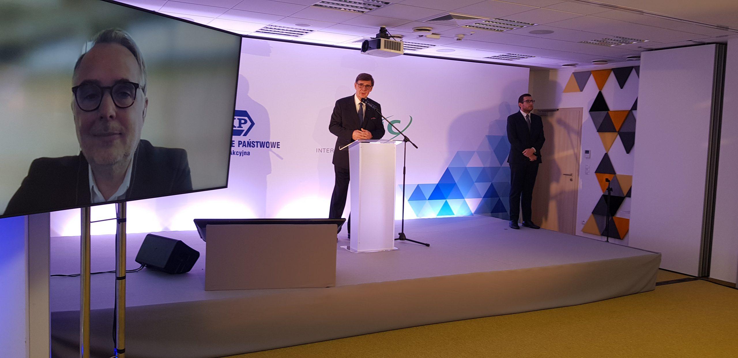 krzysztof mamiński konferencja PKP - zdjęcie